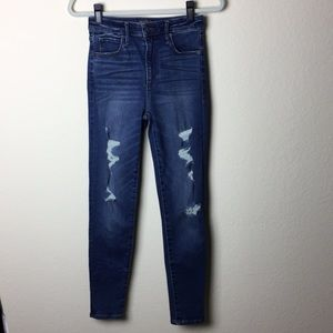 Abercrombie & Fitch Simone High Rise Skinny Jeans